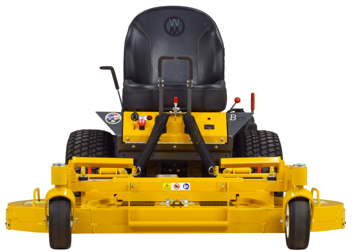 Walker B27i-DM52-product-Front-Low Non Collection Mower