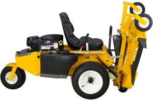 The new R21 Walker Mower right side Tilt view with 48
